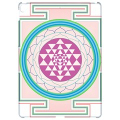 Mandala Design Arts Indian Apple Ipad Pro 12 9   Hardshell Case by Nexatart