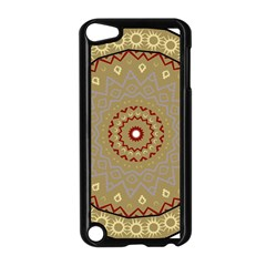 Mandala Art Ornament Pattern Apple Ipod Touch 5 Case (black) by Nexatart