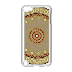 Mandala Art Ornament Pattern Apple Ipod Touch 5 Case (white) by Nexatart
