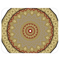 Mandala Art Ornament Pattern Double Sided Flano Blanket (medium)