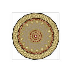 Mandala Art Ornament Pattern Satin Bandana Scarf