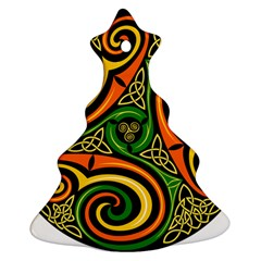 Celtic Celts Circle Color Colors Ornament (christmas Tree)  by Nexatart