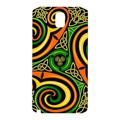 Celtic Celts Circle Color Colors Samsung Galaxy Note 3 N9005 Hardshell Back Case