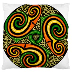 Celtic Celts Circle Color Colors Standard Flano Cushion Case (two Sides)