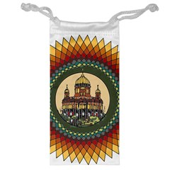 Building Mandala Palace Jewelry Bag