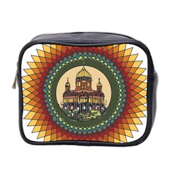 Building Mandala Palace Mini Toiletries Bag 2 Side by Nexatart