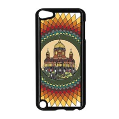 Building Mandala Palace Apple Ipod Touch 5 Case (black) by Nexatart