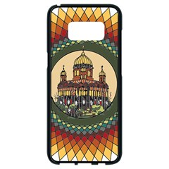 Building Mandala Palace Samsung Galaxy S8 Black Seamless Case