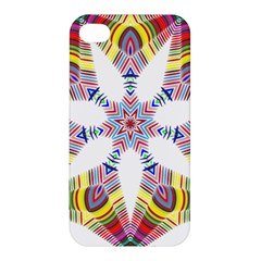 Colorful Chromatic Psychedelic Apple Iphone 4/4s Premium Hardshell Case by Nexatart