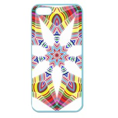 Colorful Chromatic Psychedelic Apple Seamless Iphone 5 Case (color) by Nexatart