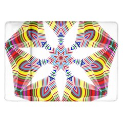Colorful Chromatic Psychedelic Samsung Galaxy Tab 10 1  P7500 Flip Case by Nexatart