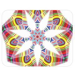 Colorful Chromatic Psychedelic Double Sided Flano Blanket (medium)  by Nexatart