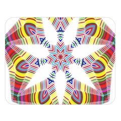 Colorful Chromatic Psychedelic Double Sided Flano Blanket (large)