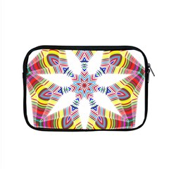 Colorful Chromatic Psychedelic Apple Macbook Pro 15  Zipper Case by Nexatart