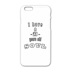 21 Y O  Soul Apple Iphone 6/6s White Enamel Case by store21