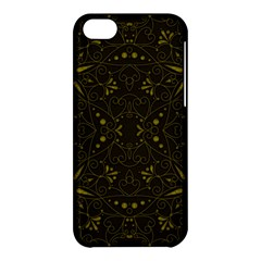 Majestic Pattern F Apple Iphone 5c Hardshell Case by MoreColorsinLife