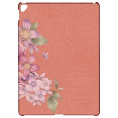 Flower Illustration Rose Floral Pattern Apple Ipad Pro 12 9   Hardshell Case