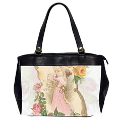 Vintage Floral Illustration Office Handbags (2 Sides)  by paulaoliveiradesign