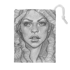 Dreaded Princess  Drawstring Pouches (extra Large) by shawnstestimony