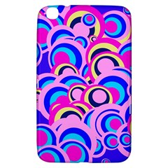 Retro Pattern 1973b Samsung Galaxy Tab 3 (8 ) T3100 Hardshell Case  by MoreColorsinLife