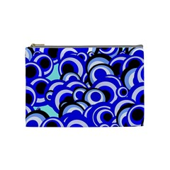 Retro Pattern 1973e Cosmetic Bag (medium)  by MoreColorsinLife
