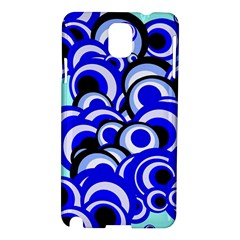 Retro Pattern 1973e Samsung Galaxy Note 3 N9005 Hardshell Case by MoreColorsinLife
