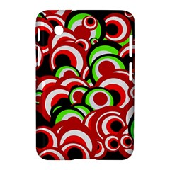 Retro Pattern 1973c Samsung Galaxy Tab 2 (7 ) P3100 Hardshell Case  by MoreColorsinLife