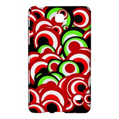 Retro Pattern 1973c Samsung Galaxy Tab 4 (7 ) Hardshell Case  by MoreColorsinLife