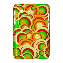 Retro Pattern 1973a Samsung Galaxy Tab 2 (7 ) P3100 Hardshell Case  by MoreColorsinLife