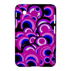 Retro Pattern 1973d Samsung Galaxy Tab 2 (7 ) P3100 Hardshell Case  by MoreColorsinLife