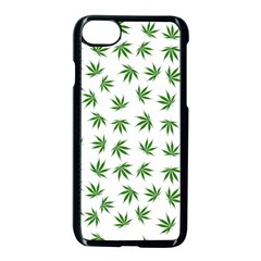 Marijuana Pattern Apple Iphone 7 Seamless Case (black)