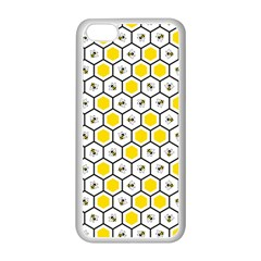 Bee Pattern Apple Iphone 5c Seamless Case (white) by stockimagefolio1