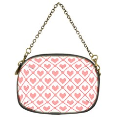 Heart Pattern Chain Purses (one Side)  by stockimagefolio1