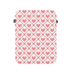 Heart Pattern Apple Ipad 2/3/4 Protective Soft Cases by stockimagefolio1