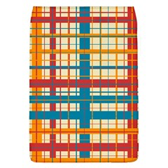 Plaid Pattern Flap Covers (l)  by linceazul