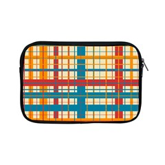 Plaid Pattern Apple Ipad Mini Zipper Cases by linceazul