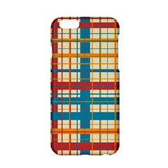 Plaid Pattern Apple Iphone 6/6s Hardshell Case by linceazul