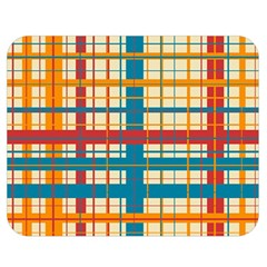Plaid Pattern Double Sided Flano Blanket (medium)  by linceazul