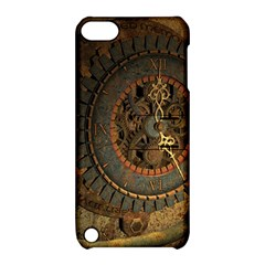 Steampunk, Awesoeme Clock, Rusty Metal Apple Ipod Touch 5 Hardshell Case With Stand by FantasyWorld7