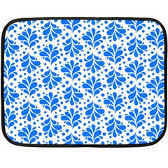 Water Drops Pattern Double Sided Fleece Blanket (mini)