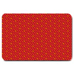 Flower Pattern Large Doormat