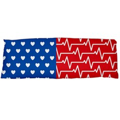 Usa Flag Body Pillow Case (dakimakura) by stockimagefolio1