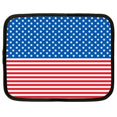 Usa Flag Netbook Case (xl)  by stockimagefolio1