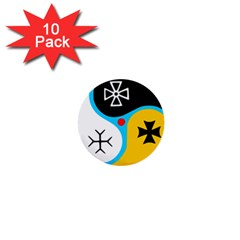 Assianism Symbol 1  Mini Buttons (10 Pack)  by abbeyz71