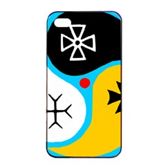 Assianism Symbol Apple Iphone 4/4s Seamless Case (black) by abbeyz71