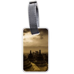 Borobudur Temple Indonesia Luggage Tags (two Sides) by Nexatart