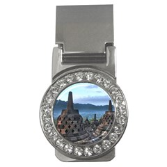 Borobudur Temple  Morning Serenade Money Clips (cz)  by Nexatart