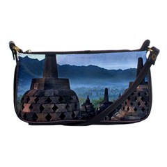 Borobudur Temple  Morning Serenade Shoulder Clutch Bags