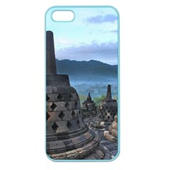 Borobudur Temple  Morning Serenade Apple Seamless Iphone 5 Case (color) by Nexatart