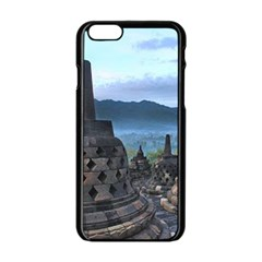 Borobudur Temple  Morning Serenade Apple Iphone 6/6s Black Enamel Case